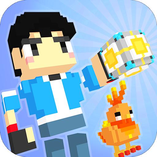 模擬App|Pixel Monster GO LOGO-3C達人阿輝的APP