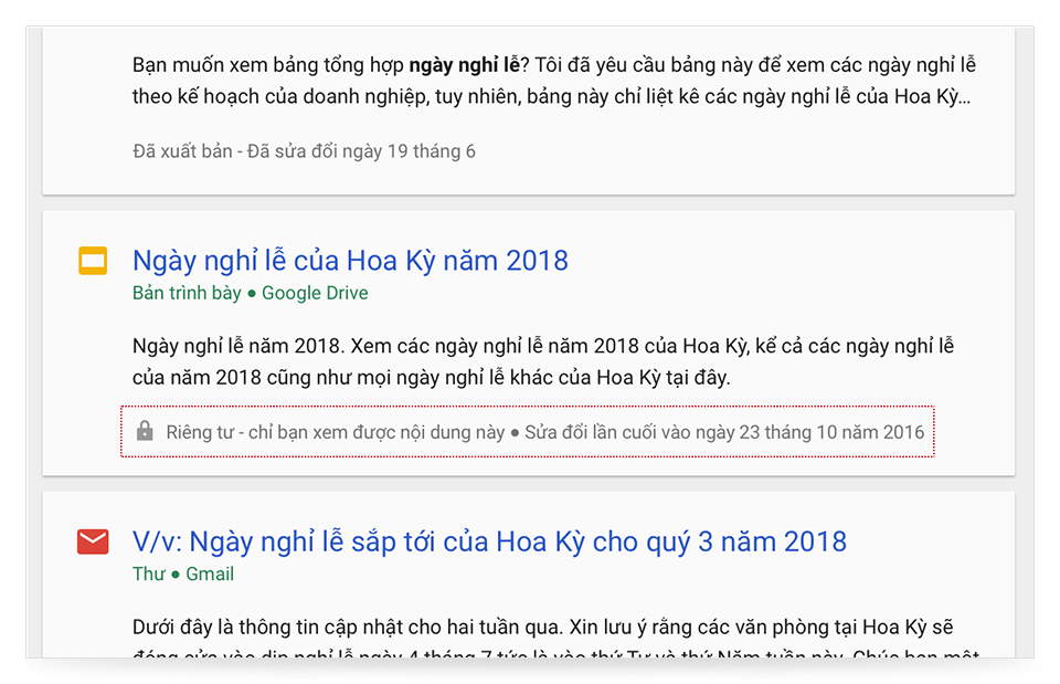 Thẻ hỗ trợ Cloud Search