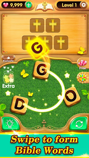 Bible Verse Collect - Free Bible Word Games  captures d'écran 1