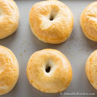 Bread Machine Bagels.