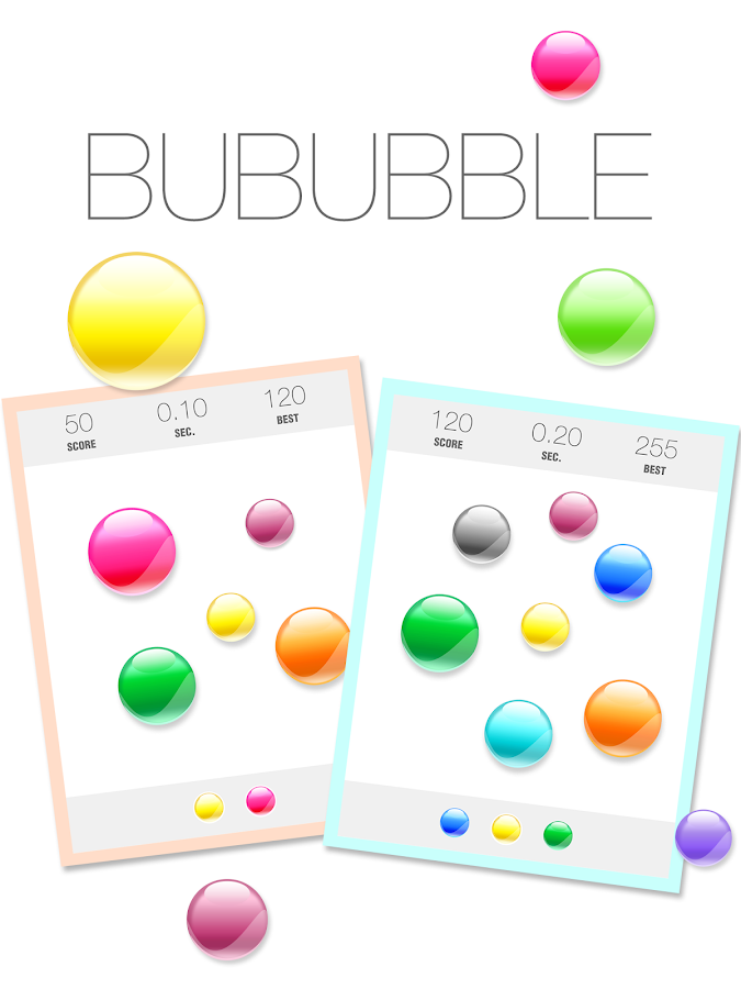Bububble- screenshot