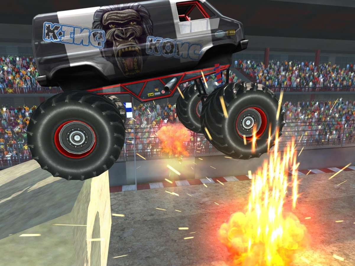 Monster Truck Jam Simulator Extreme Stunts- screenshot