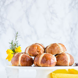 Coconut and Mango Hot Cross Buns - West African Flavours