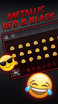 super cool black red keyboard theme apk latest version download