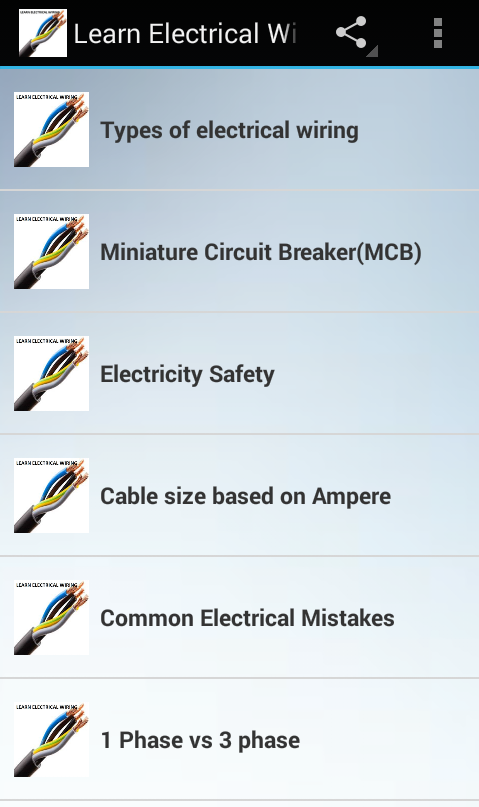 Learn Electrical Wiring - Android Apps on Google Play