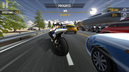 Course de moto APK MOD screenshots 1