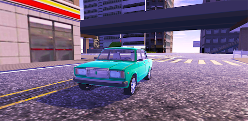 Tune and drive this russian Lada car in a big city from China. Open world game.