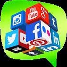 Tous les comptes Réseaux sociaux icon