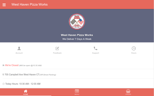 West Haven Pizza Works- screenshot thumbnail