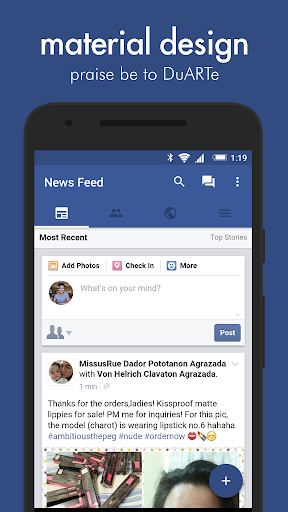 Swipe for Facebook Pro v6.0.3 [Paid]