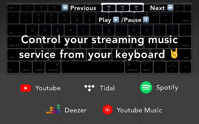 Streaming Music Controller: YouTube, Spotify