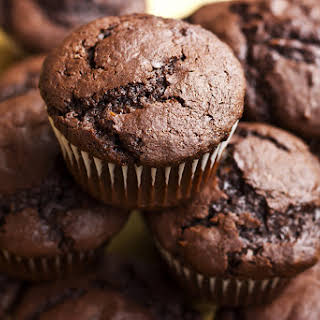RecipeChocolate Protein Muffins.