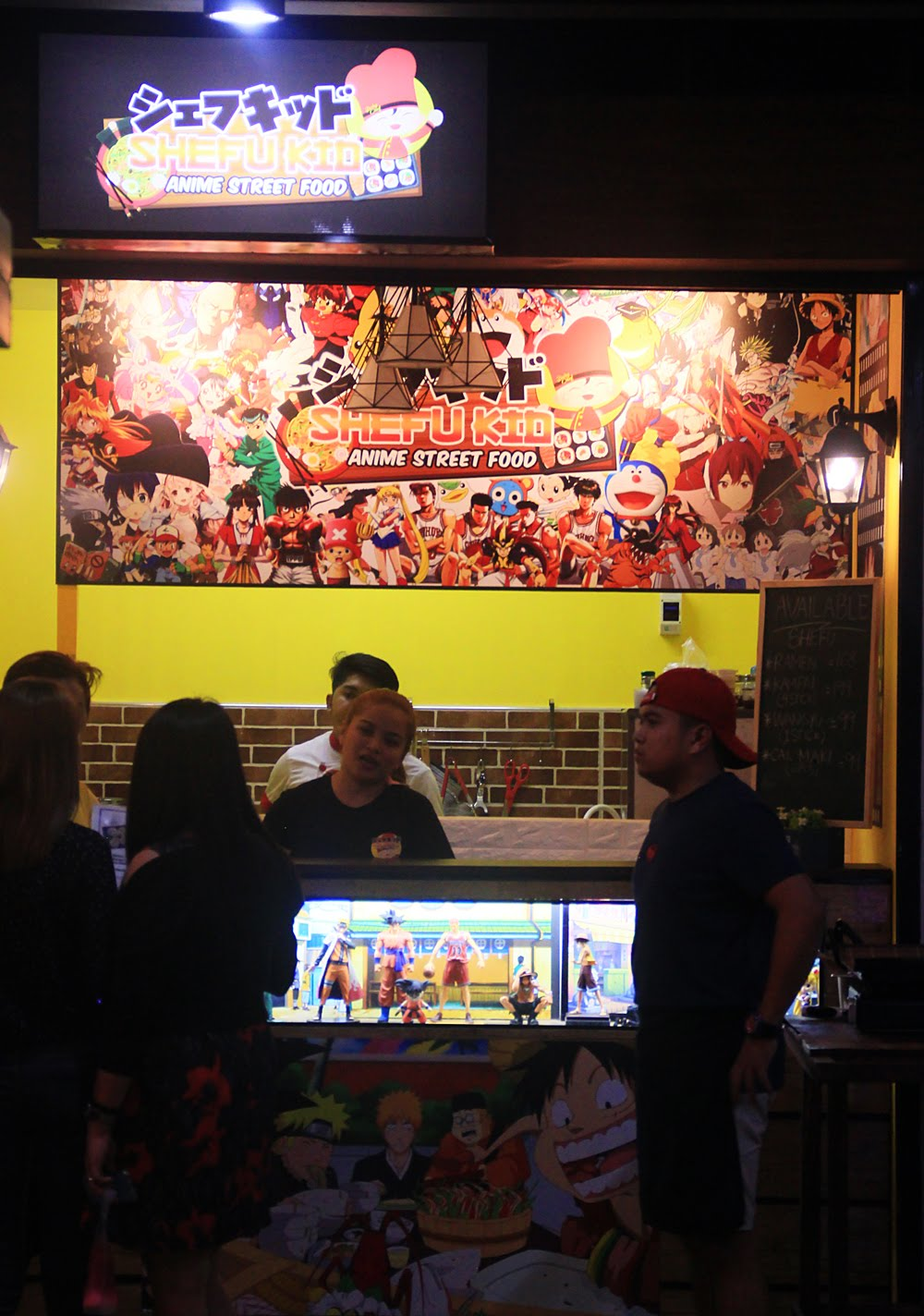 Shefu Kid Anime Street Food Stall