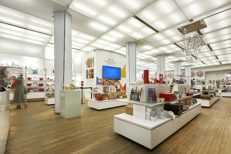 Inside the MoMA Design Store. Photo: MoMA Design Store.