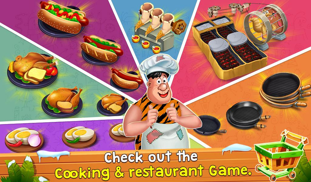Cooking Madness: Restaurant Chef Ice Age Game