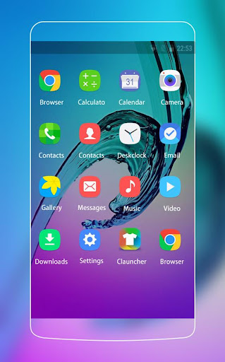 Theme for Samsung Galaxy A7 HD Wallpapers  screenshots 2