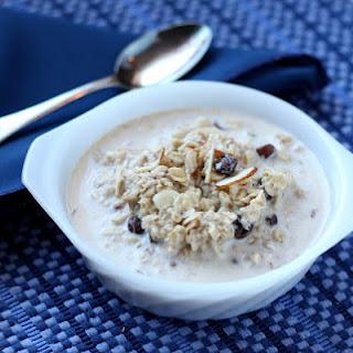 Slow Cooked Almond Raisin Oatmeal
