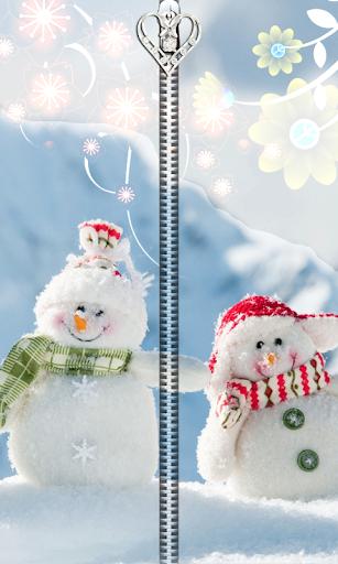 Snowman Zipper UnLock