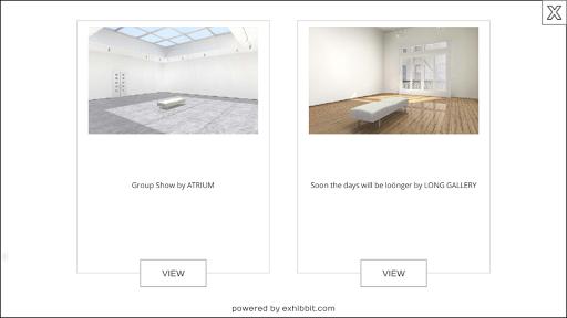 Exhibbit 3d virtual art gallery screenshot 5