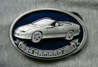 Bältesspänne Chevrolet Camaro Convertible Z28 1994