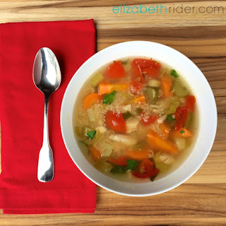 Simple Homemade Chicken Quinoa Soup