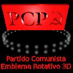 Partido Comunista Logotipo 3D Icon