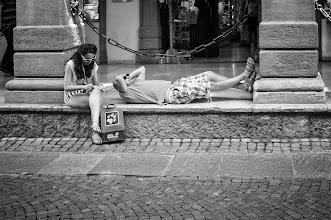 Photo: Bolzano #29 - shopping break...  #street #streetphotography #shootthestreet #blackandwhite #blackandwhitephotography #bw #monochrome #bolzano