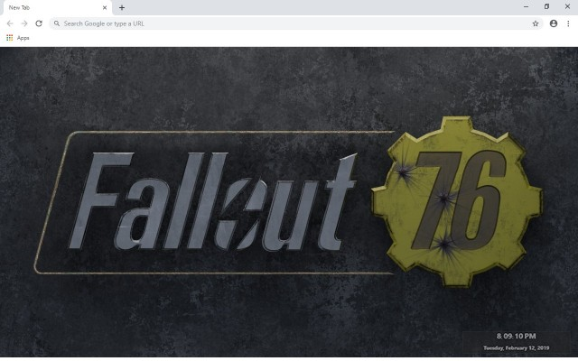 Fallout 76 New Tab & Wallpapers Collection