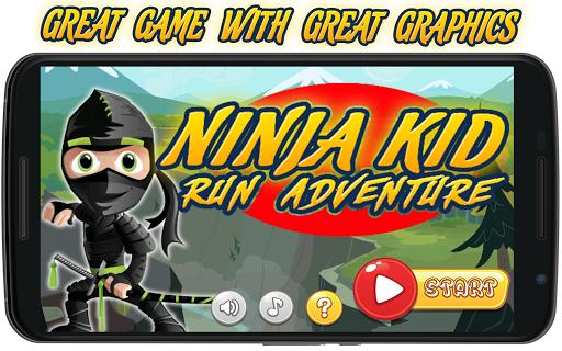 Ninja Kid Run Adventure