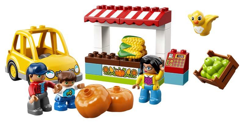 Contenido de Lego® 10867 Mercado de la Granja