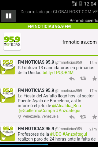 FM NOTICIAS 95.9- screenshot