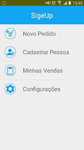 SigeUp Pedidos screenshot 0