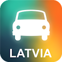Latvia GPS Navigation icon