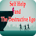 Self help and destructive ego icon