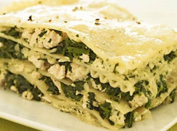 Crock Pot Chicken And Pesto Lasagna Recipe