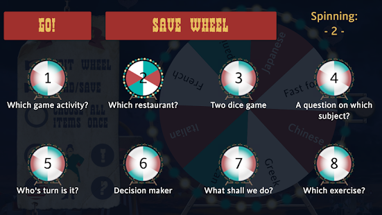 Game Wheel: make your own wheel - náhled