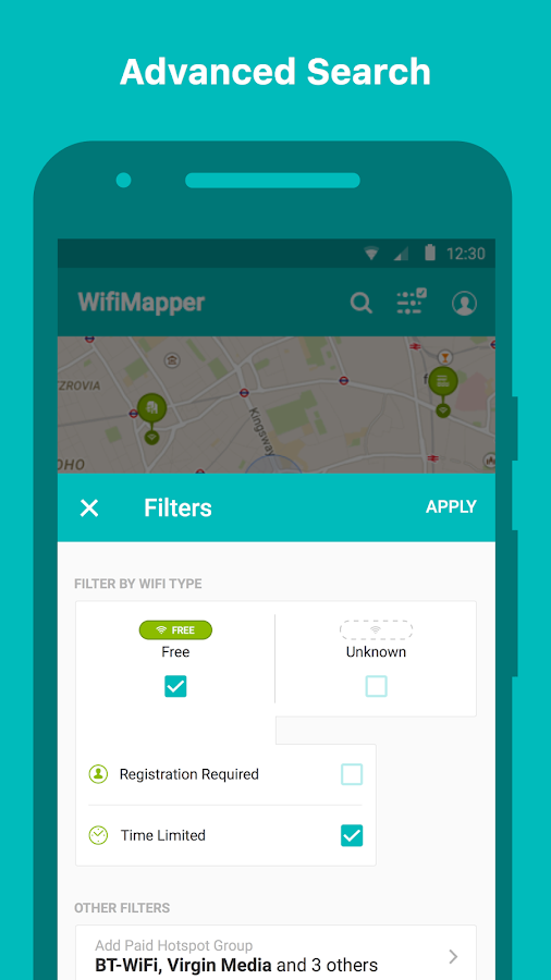 WifiMapper - Free Wifi Map- screenshot
