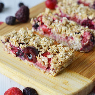 Very Berry Granola Bars (with a Shortcut).