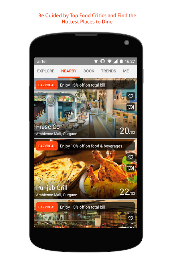 EazyDiner - Best Deals at The Best Restaurants- screenshot