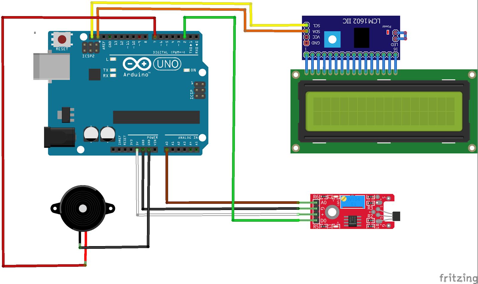 arduino magnetic sensor wiring diagram