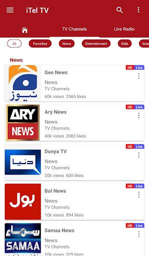 iTel TV - Watch Everything anywhere 1.09942 screenshots 2