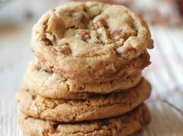 Butterscotch Cashew Cookies
