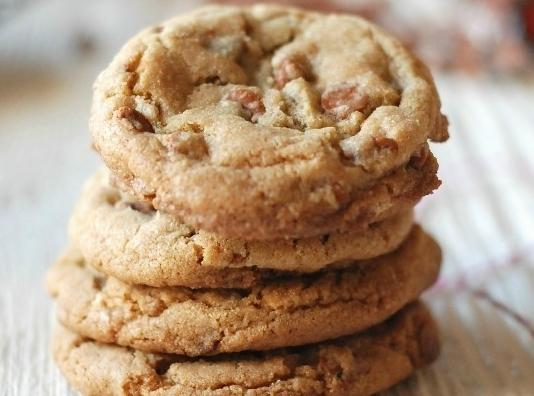 Butterscotch Cashew Cookies Recipe
