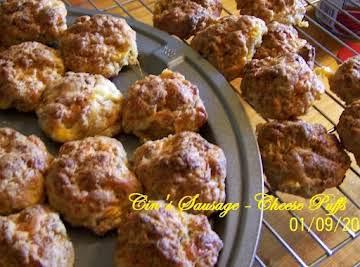 Cin's Sausage-Cheese Puffs