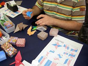 Photo: recogiendo las piezas que ha aprendido con Mihoko