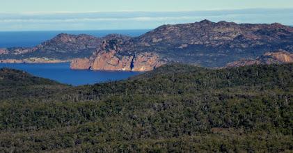Photo: Schouten Island in the distance