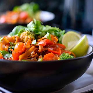 Rice Noodles Vegan Recipes
