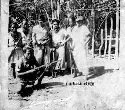 Photo: Pasukan Tentara Keamanan Rakyat (TKR) pada masa revolusi di Pinrang.