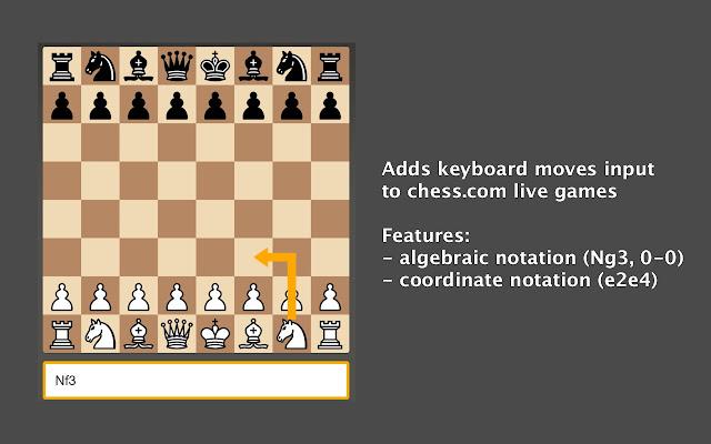 Chess.com Keyboard