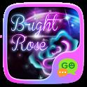 GO SMS BRIGHT ROSE THEME icon